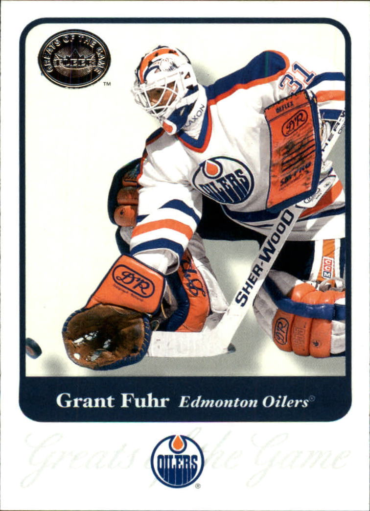 2001-02 Greats of the Game #57 Grant Fuhr
