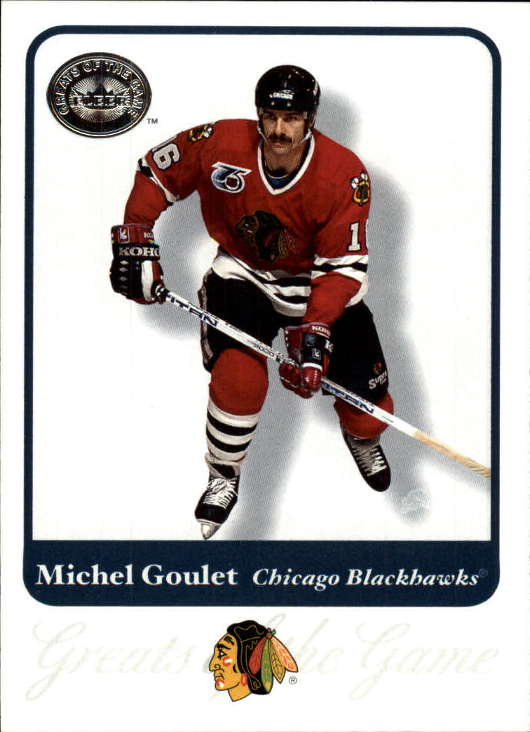 2001-02 Greats of the Game #59 Michel Goulet