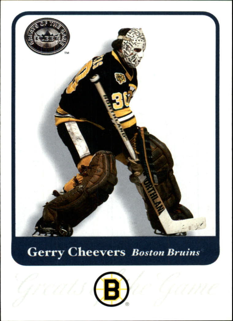 2001-02 Greats of the Game #60 Gerry Cheevers
