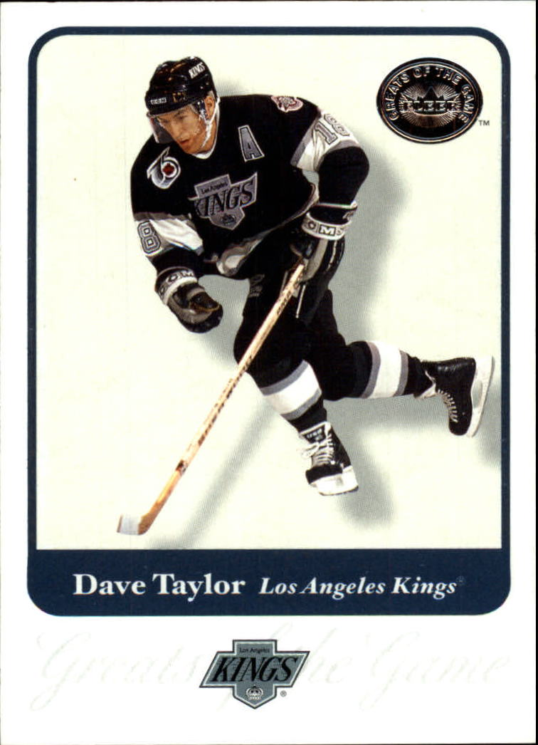2001-02 Greats of the Game #61 Dave Taylor