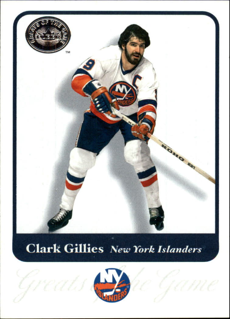 2001-02 Greats of the Game #62 Clark Gillies
