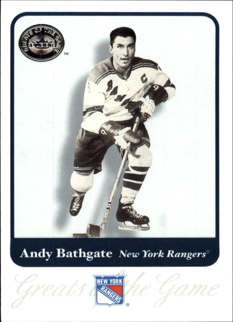 2001-02 Greats of the Game #65 Andy Bathgate