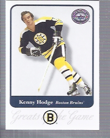2001-02 Greats of the Game #67 Ken Hodge front image