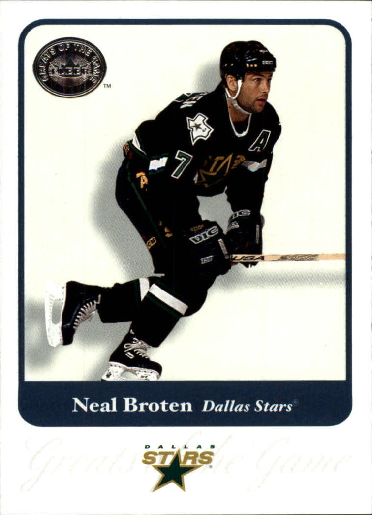 2001-02 Greats of the Game #71 Neal Broten