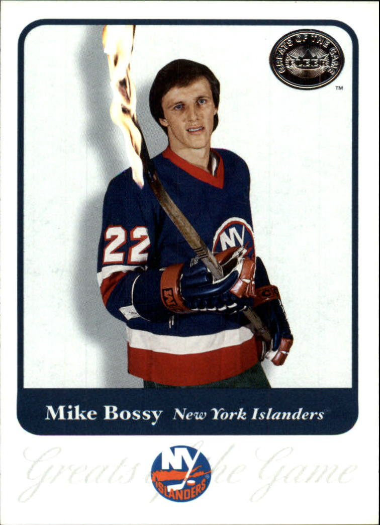 2001-02 Greats of the Game #72 Mike Bossy