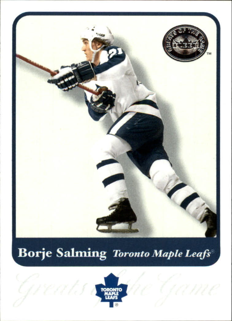 2001-02 Greats of the Game #73 Borje Salming