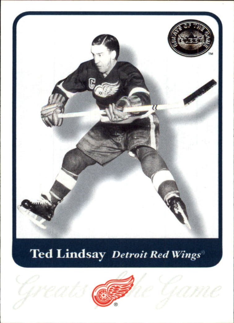 2001-02 Greats of the Game #74 Ted Lindsay