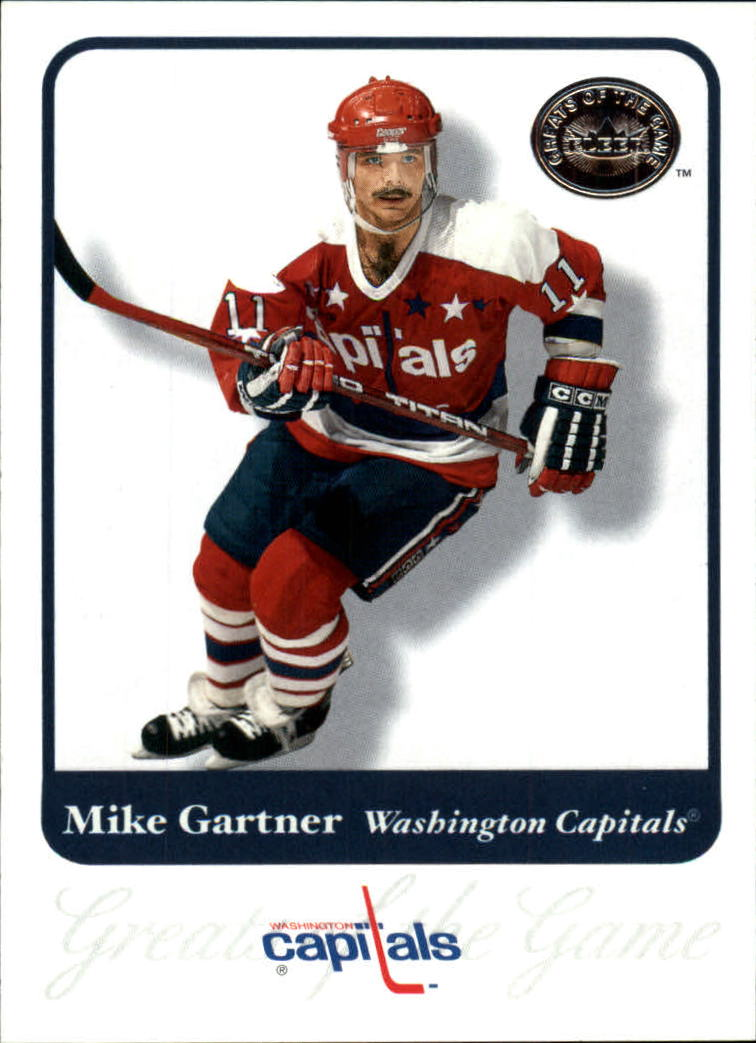 2001-02 Greats of the Game #75 Mike Gartner