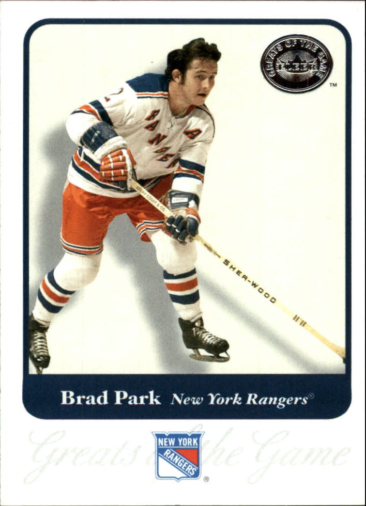2001-02 Greats of the Game #77 Brad Park
