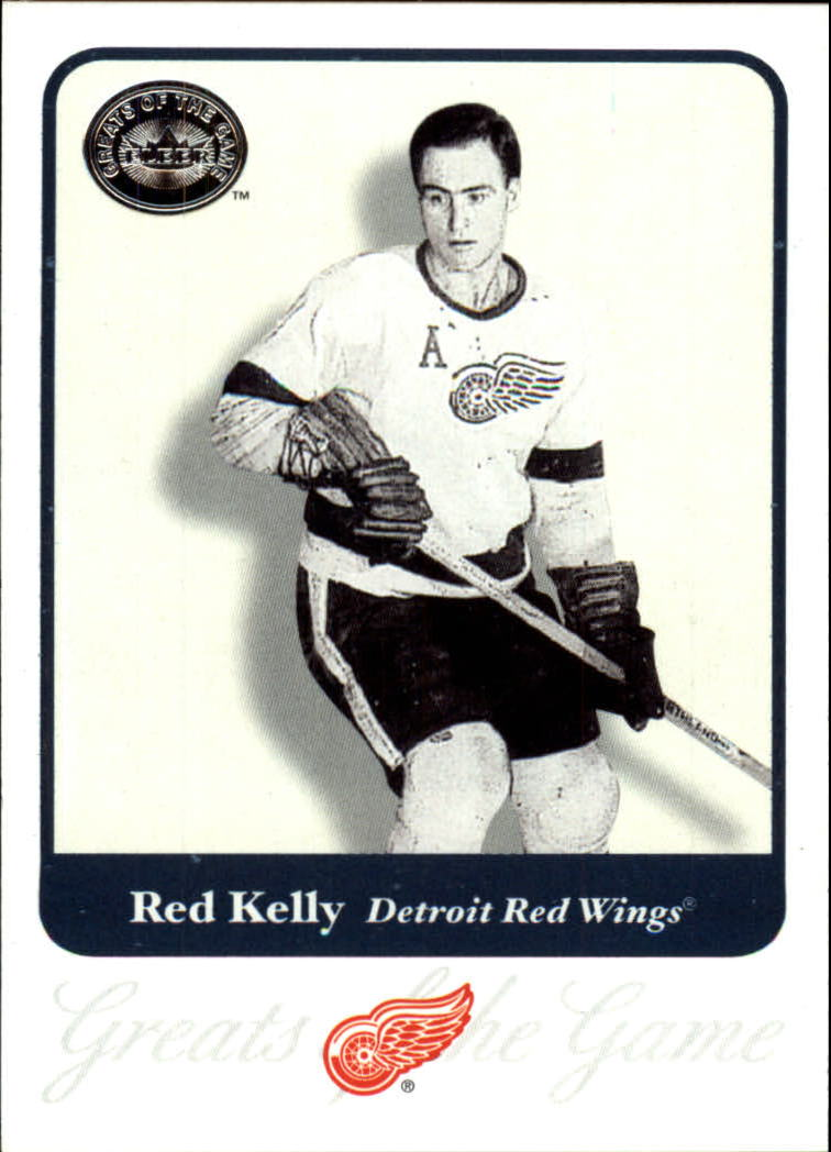 2001-02 Greats of the Game #78 Red Kelly