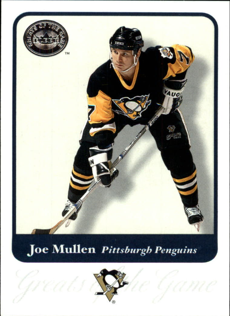 2001-02 Greats of the Game #79 Joe Mullen