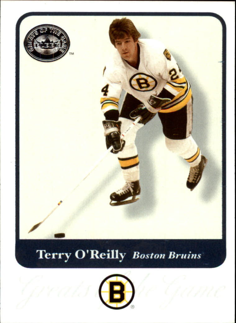 2001-02 Greats of the Game #80 Terry O'Reilly