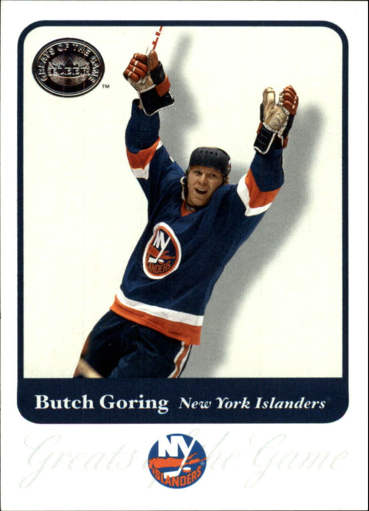 2001-02 Greats of the Game #82 Butch Goring