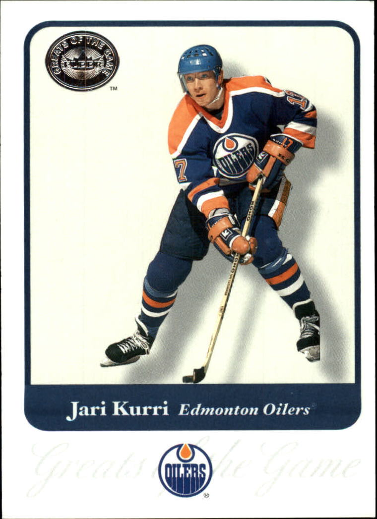 2001-02 Greats of the Game #86 Jari Kurri