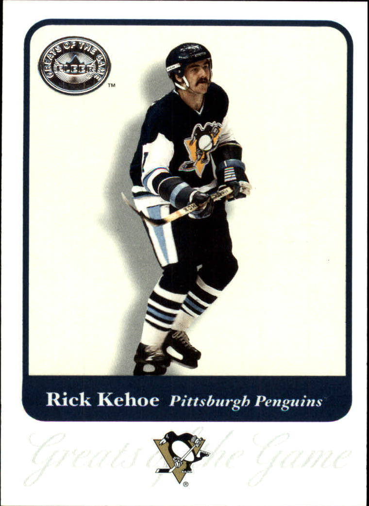 2001-02 Greats of the Game #87 Rick Kehoe