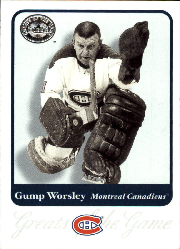 2001-02 Greats of the Game #88 Gump Worsley