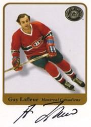 2001-02 Greats of the Game Autographs #8 Guy Lafleur SP