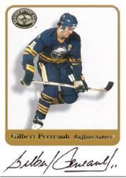 2001-02 Greats of the Game Autographs #9 Gilbert Perreault
