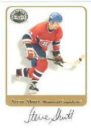 2001-02 Greats of the Game Autographs #12 Steve Shutt