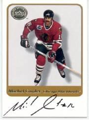 2001-02 Greats of the Game Autographs #59 Michel Goulet