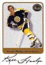 2001-02 Greats of the Game Autographs #67 Ken Hodge
