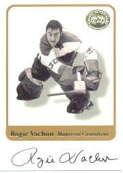 2001-02 Greats of the Game Autographs #68 Rogie Vachon