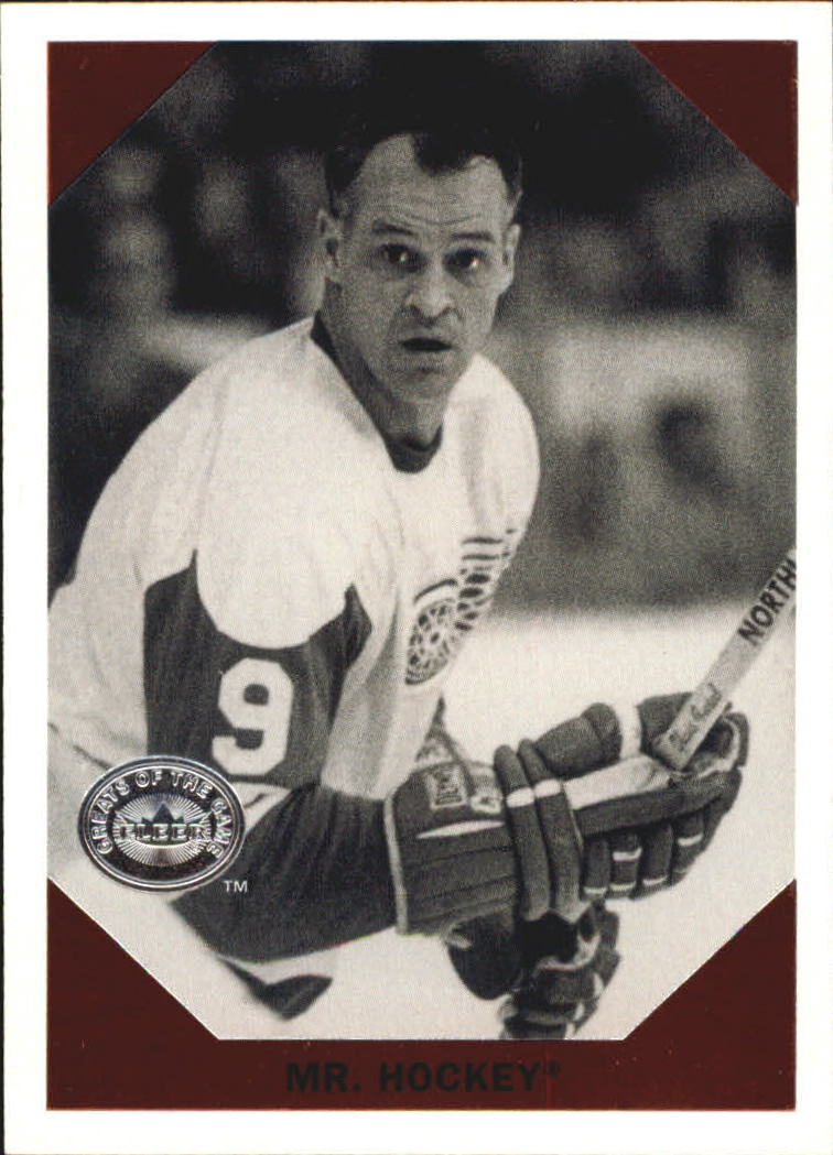 2001-02 Greats of the Game Retro Collection #1 Gordie Howe