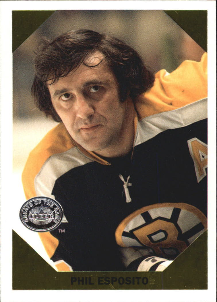2001-02 Greats of the Game Retro Collection #3 Phil Esposito