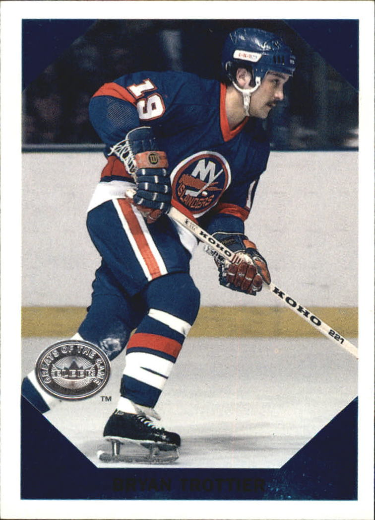 2001-02 Greats of the Game Retro Collection #9 Bryan Trottier front image