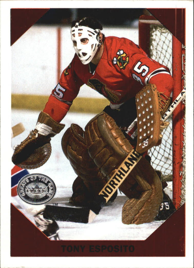 2001-02 Greats of the Game Retro Collection #13 Tony Esposito