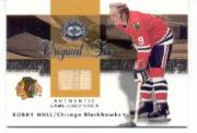 2001-02 Greats of the Game Sticks #5 Bobby Hull