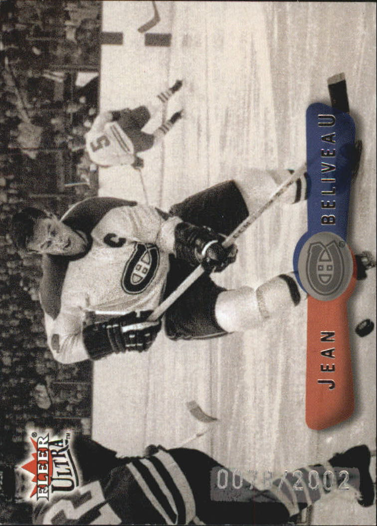 2001-02 Fleer Legacy #6 Jean Beliveau SP