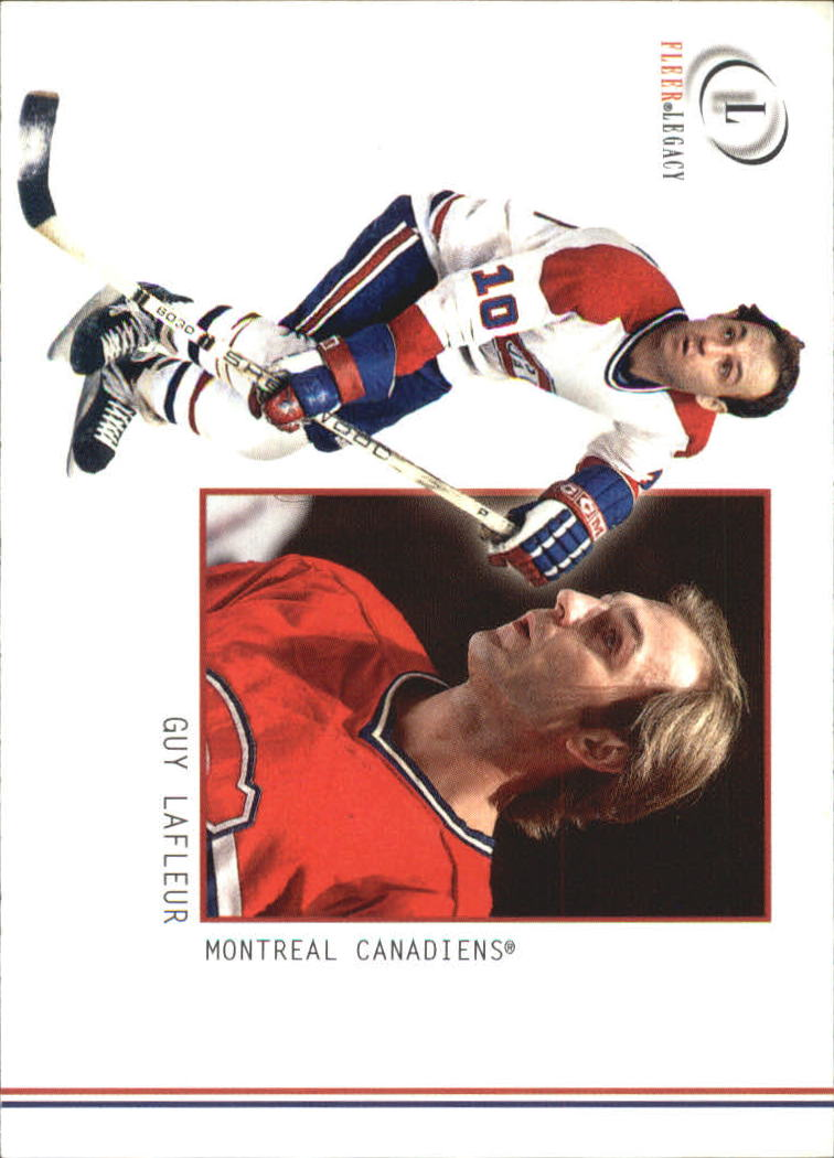 2001-02 Fleer Legacy #13 Guy Lafleur