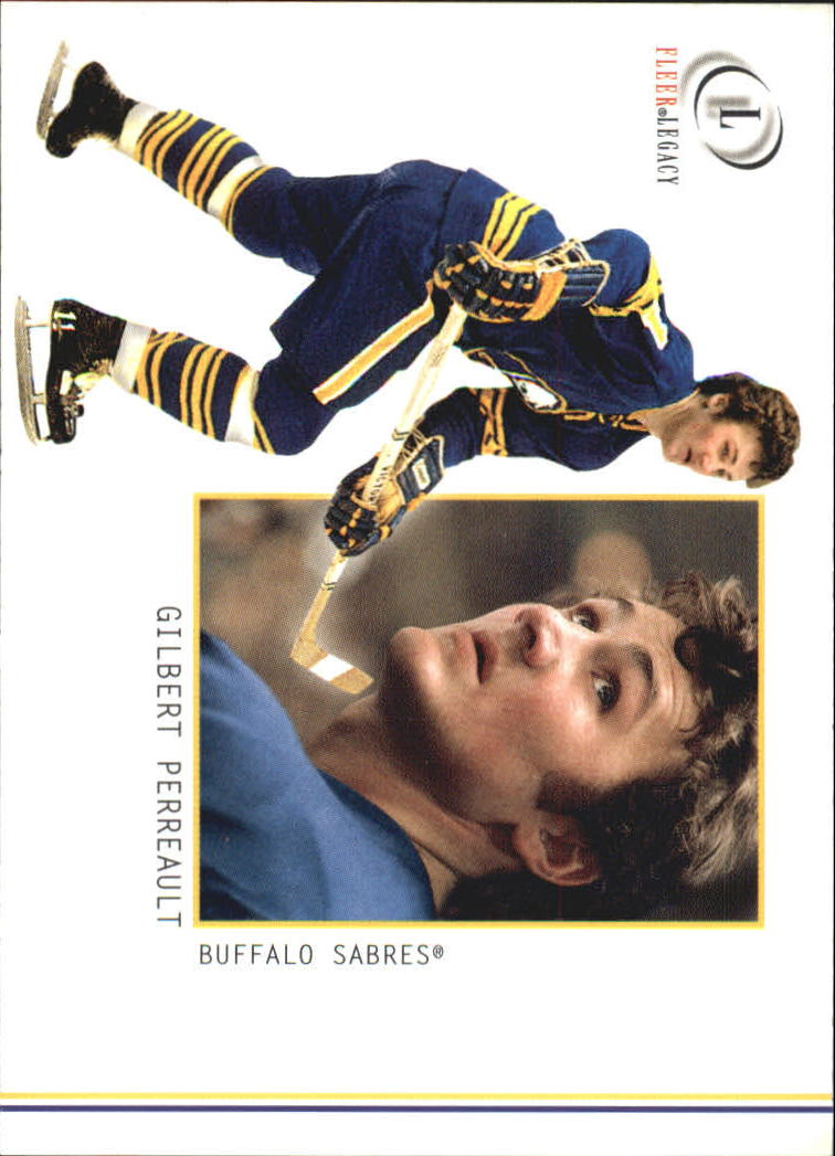 2001-02 Fleer Legacy #14 Gilbert Perreault