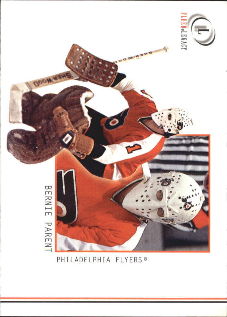 2001-02 Fleer Legacy #48 Bernie Parent