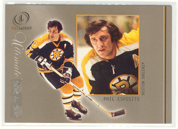 2001-02 Fleer Legacy Ultimate #11 Phil Esposito