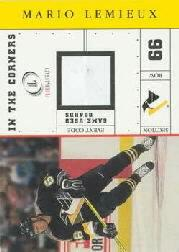 2001-02 Fleer Legacy In the Corners #4 Mario Lemieux