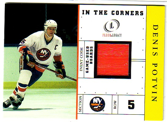 2001-02 Fleer Legacy In the Corners #7 Denis Potvin