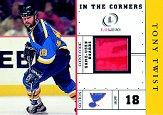 2001-02 Fleer Legacy In the Corners #12 Tony Twist