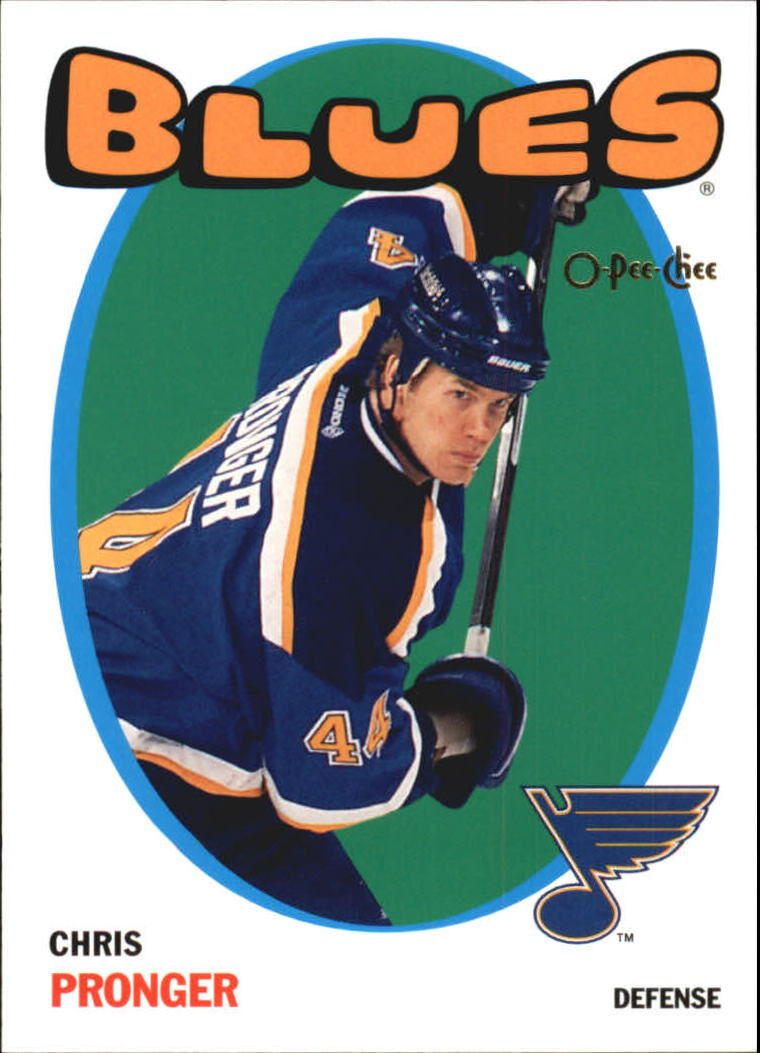 2001-02 O-Pee-Chee Heritage Parallel #16 Chris Pronger