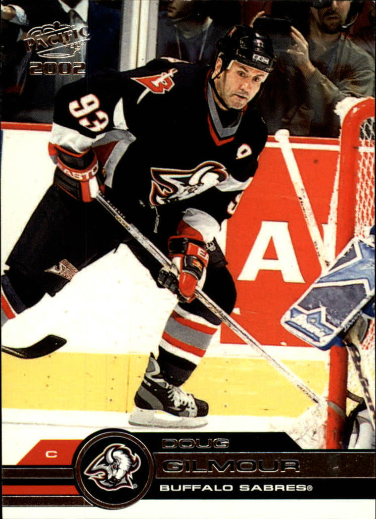 2001-02 Pacific #48 Doug Gilmour