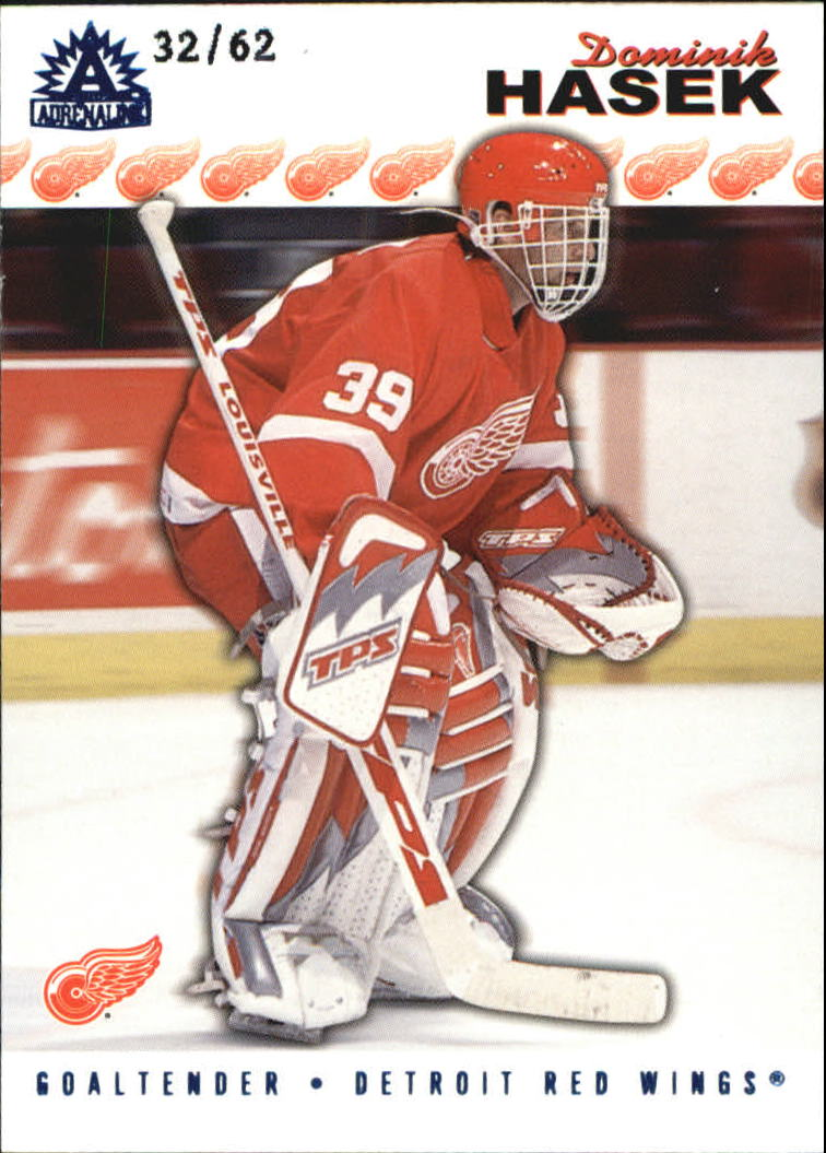 2001-02 Pacific Adrenaline Blue #65 Dominik Hasek