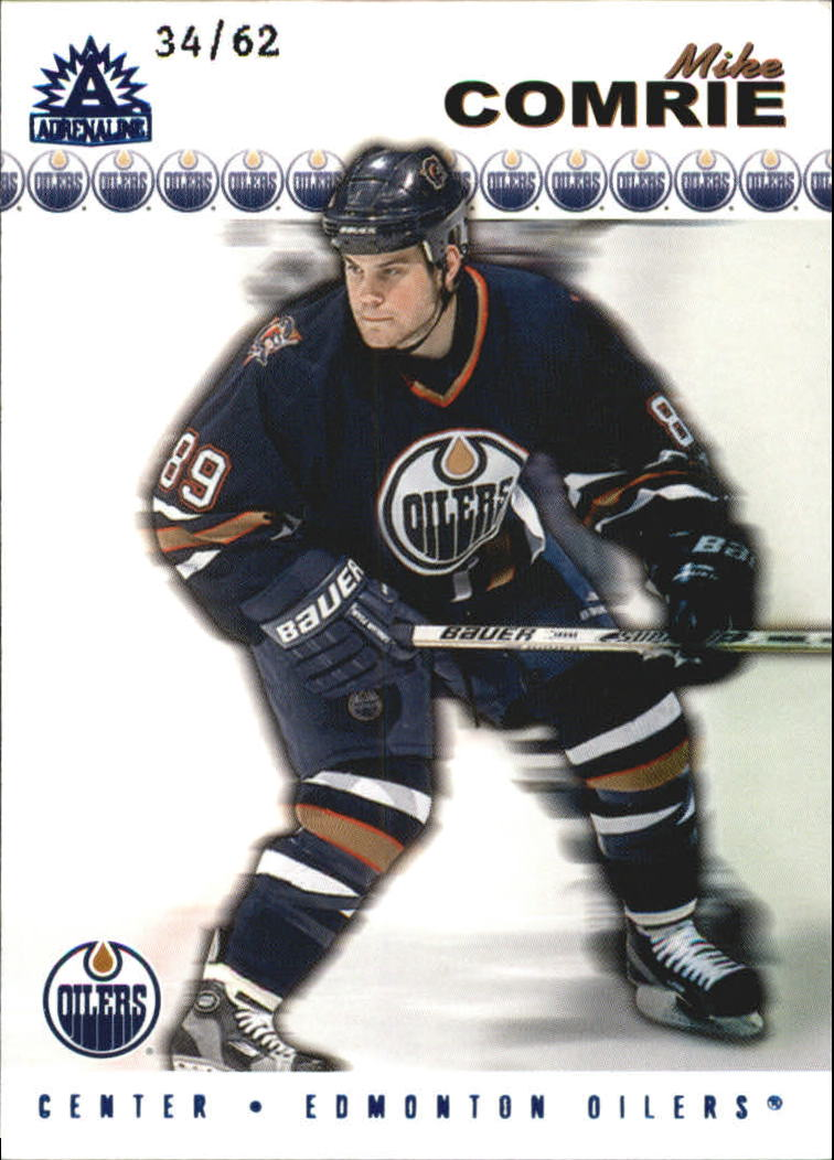 2001-02 Pacific Adrenaline Blue #74 Mike Comrie