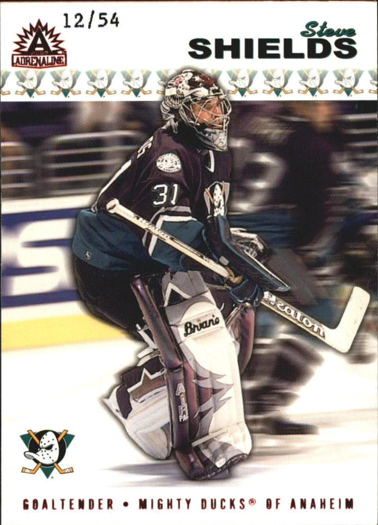 2001-02 Pacific Adrenaline Red #5 Steve Shields