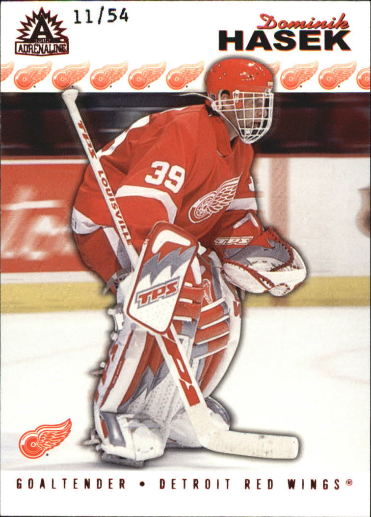 2001-02 Pacific Adrenaline Red #65 Dominik Hasek