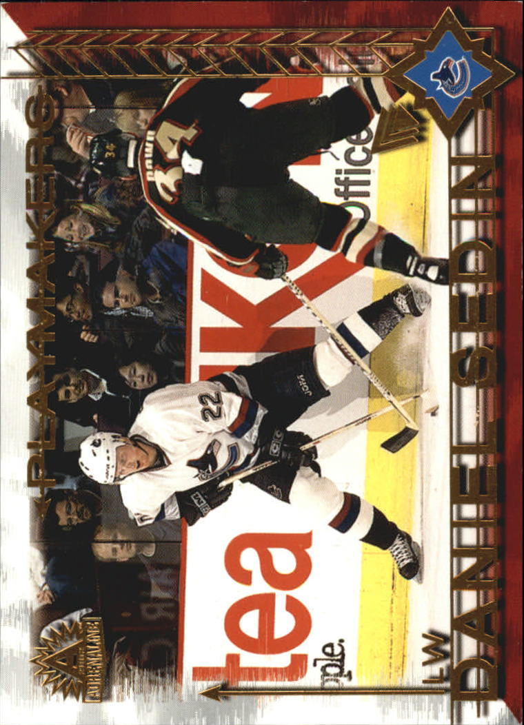 2001-02 Pacific Adrenaline Playmakers #9 Daniel Sedin