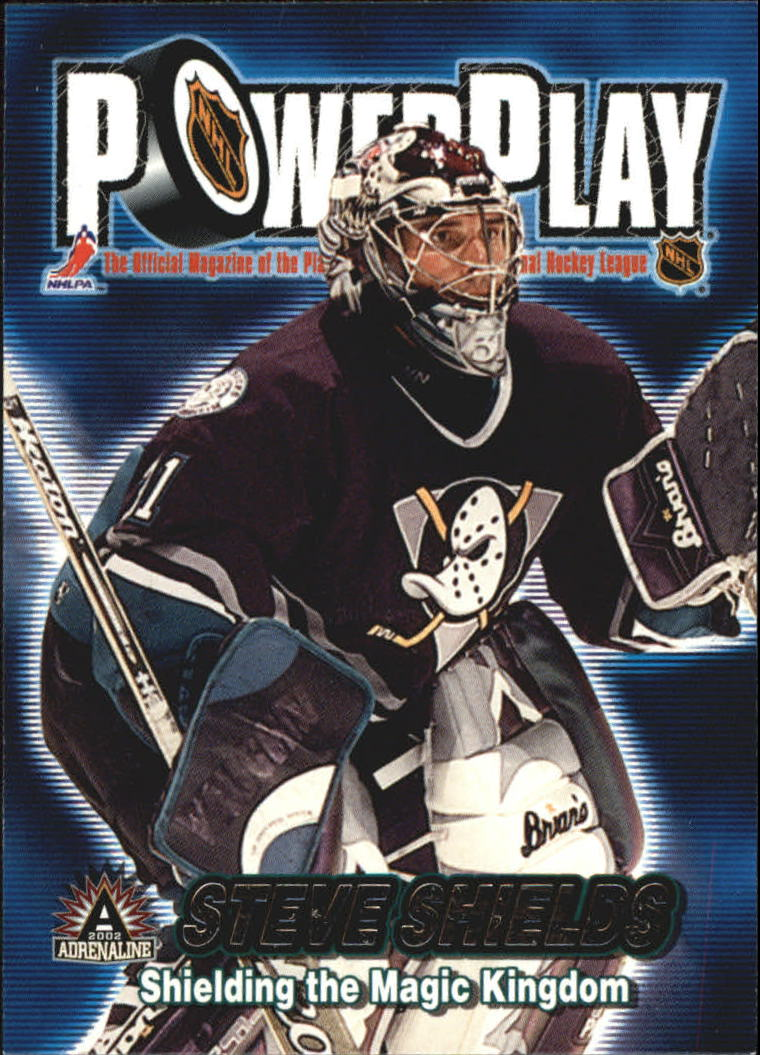 2001-02 Pacific Adrenaline Power Play #2 Steve Shields