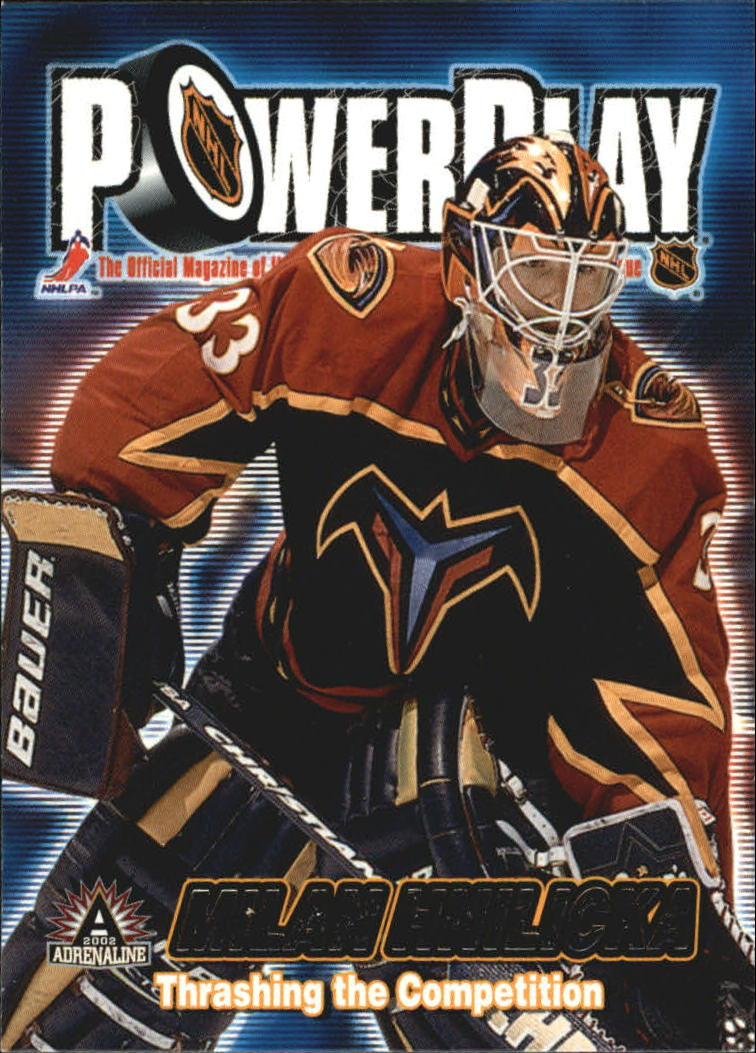 2001-02 Pacific Adrenaline Power Play #3 Milan Hnilicka