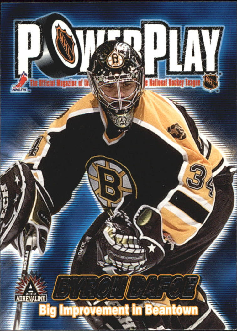 2001-02 Pacific Adrenaline Power Play #4 Byron DaFoe