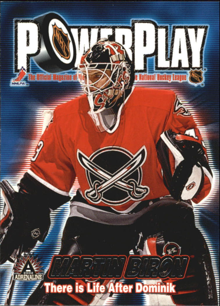 2001-02 Pacific Adrenaline Power Play #5 Martin Biron